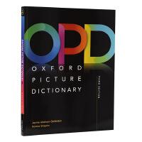 预售牛津图解词典字典 OPD英文原版Oxford Picture Dictionary Second Edition: Monolingual Engli