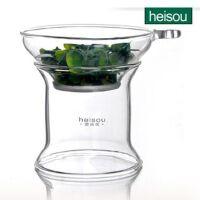 HEISOU 耐热玻璃茶漏茶滤过滤器 纯手工功夫茶具配件 CF-8      1507