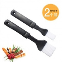烧烤刷 长柄耐高温硅胶料理刷子 调料刷(2个装)JJG32