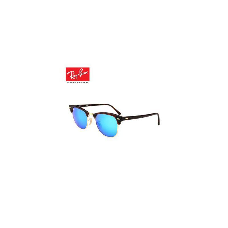 ray ban rb3016 clubmaster sunglasses mock tortoise arista frame