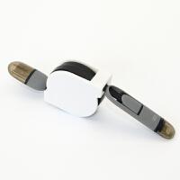 二合一数据线充电线伸缩线 苹果iPhone6/7数据线 安卓 快速充电线