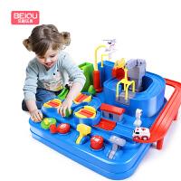 奋铭 轨道火车 多层电动轨道车托马斯轨道小火车玩具电动车儿童玩具 生日礼物