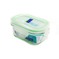 GLASS LOCK 三光云彩 韩国钢化玻璃乐扣微波保鲜盒便当盒饭盒-RP 520 150ml SG315-11