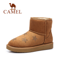 Camel/骆驼短靴 欧美风舒适短筒靴保暖雪地靴女靴子