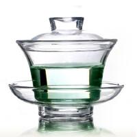 HEISOU 耐热玻璃盖碗 功夫茶具 玻璃茶具 玻璃杯 CF-2     1501