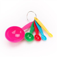 [当当自营]法克曼5件装彩色带刻度量勺5208481