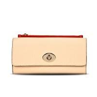 蔻驰(COACH)钱包时尚女士牛皮长款钱包手拿包零钱包52824系列