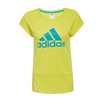 ADIDAS阿迪达斯女装 运动休闲短袖T恤 AP5894 现