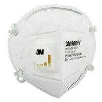 3M 防尘口罩9001V防粉尘防雾霾防pm2.5口罩防护带呼吸阀专业口罩