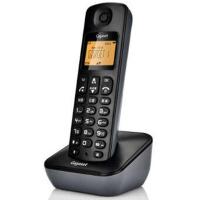 集怡嘉 A190L 单机 星际黑  Gigaset原西门子品牌电话机A190L数字无绳电话单机中文显示双免提屏幕背光家用办公座机 单机 (星际黑)
