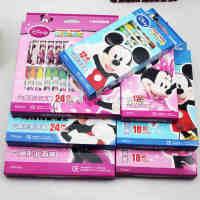 真彩M-016-24油画棒 米奇油画棒 真彩24色油画棒 迪士尼油画棒