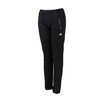 adidas阿迪达斯女装运动长裤三条纹直筒运动服AJ4696