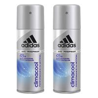 阿迪达斯(Adidas)男士香体止汗喷雾150ml (原装进口版)冰感因子 6656