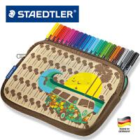 全店满百包邮!德国STAESTLER施德楼 334 NPC20 20色纤维中性笔勾线笔套装送笔袋