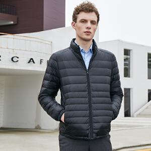新款轻薄羽绒服男短款保暖时尚韩版潮流羽绒衣外套TF17227