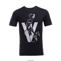 耐克Nike Air Jordan 5 乔丹男子篮球运动短袖T恤 CS