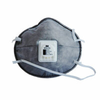 3M 正品 9913V 活性碳口罩 防PM2.5 装修异味甲醛 防雾霾 防毒口罩(单只价格)