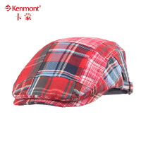 kenmont韩版儿童帽子男童女童宝宝贝雷帽婴儿帽子鸭舌帽潮5842