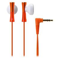 【全国大部分地区包邮哦!!】铁三角(Audio-technica) ATH-J100 OR 巧细小耳塞式耳机 时尚多彩 橙色