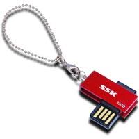 【大部分地区包邮】飚王(SSK)诱惑 U盘 (SFD042)32G(红色)防水防尘全金属优盘