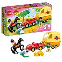 [当当自营]LEGO 乐高 得宝系列 小马拖车 积木拼插儿童益智玩具 10807