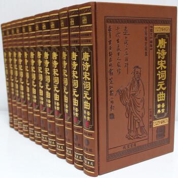 唐诗宋词元曲鉴赏辞典