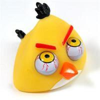 愤怒的小鸟发泄爆眼公仔-大号(黄鸟) ck-24