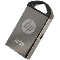 惠普(HP)U盘 v221w 16G气质小U 金属银色16GB *佳品