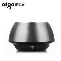爱国者(aigo)便携SP-B200音箱无线蓝牙免提通话FM收音插卡小音响 手机蓝牙音箱 金属灰
