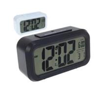 文博 聪明钟 钟表 创意电子钟 静音闹钟 LED夜光钟 闹钟 贪睡功能JJR62