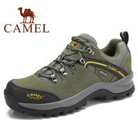 camel骆驼户外鞋 休闲户外登山鞋 男款 头层牛皮 徒步登山鞋