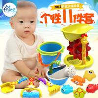 儿童沙滩玩具宝宝挖沙工具沙漏铲子夏日户外亲子互动沙滩桶 戏水 沙漏玩沙玩具