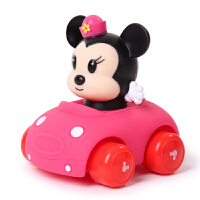 【当当自营】迪士尼 卡通交通玩具 儿童回力车 米妮SWL-427(不用电池 玩具车 惯性车 跑车)