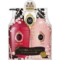 日本资生堂(Shiseido)玛宣妮蜜桃珍珠洗发水380ml+护发素 9293