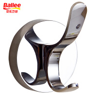【货到付款】贝乐BALLEE YG0006 时尚挂钩 衣钩 浴室壁挂 更强承重 两钩