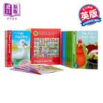 自我阅读1-50盒集 英文原版 Read It Yourself 1-50 进口童书 儿童读物 分级阅读包含有粉红猪小妹 小猪佩琪 故事书