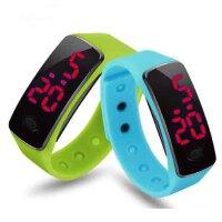 LED非智能触屏手环运动手表男表女表情侣表儿童学生防水电子手表