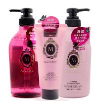 日本资生堂(Shiseido)玛宣妮�果洗发水450ml+护发素+护发膜7619