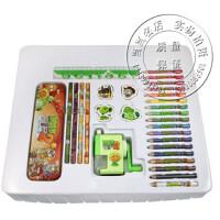 文具礼盒 植物大战僵尸铅笔文具礼盒套装学生礼物儿童礼物削笔机