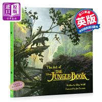 奇幻森林英文原版电影艺术珍藏收藏画册 the art of the jungle book原版the jungle book森林王子