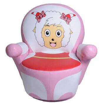 儿童沙发 宝宝单人小沙发 卡通皮沙发 可爱 外贸 懒人小沙发_美羊羊