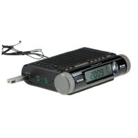 德生 MP-200 高灵敏度调频立体声钟控收音机