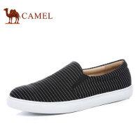 camel骆驼男鞋 新品 时尚休闲透气低帮帆布鞋男潮鞋滑板鞋