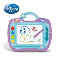 【当当自营】迪士尼画板 彩色涂鸦板 磁性学习画板宝宝写字板儿童玩具-冰雪奇缘公主画板38DF2406