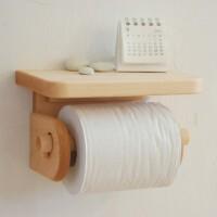 【纸巾架】全实木质厨房卷纸器 卫生间厕纸盒 手纸架 创木工房
