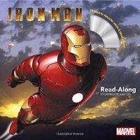 钢铁侠 带CD【现货】英文原版童书 Iron Man Read-Along Storybook and CD 儿童有声读物 书+CD 漫威