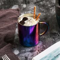 FaSoLa麦纤维马克杯儿童带手柄杯情侣洗漱杯男士茶杯女士便携水杯 乐享杯