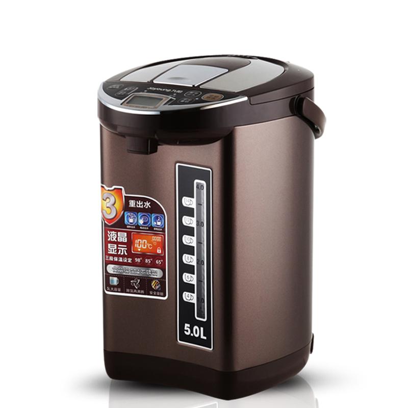 jyk-50p02九阳电热水壶5l保温防烫不锈钢热水瓶正品