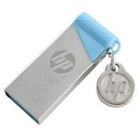 惠普(HP)U盘 v215b 32G  小清新金属银色 32GB 金属机身  优盘