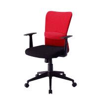 【品牌直供】日本SANWA 包邮! SNC-NET14 舒适透气面料办公椅 职员椅 电脑椅